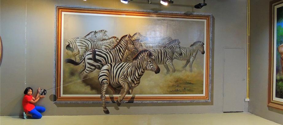 泰國藝術天堂3D立體美術館