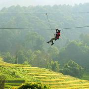 泰國清邁叢林飛躍套票Eagle Track