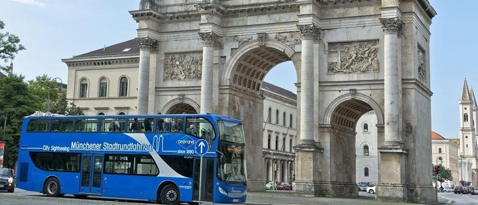 德國慕尼黑雙層觀光巴士車票,慕尼黑hop on hop off,慕尼黑觀光巴士