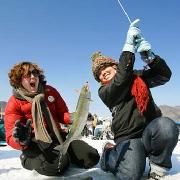 韓國平昌冰釣+玩雪一日遊