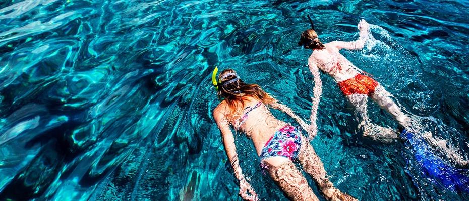泰國芭堤雅格蘭島水上活動浮潛