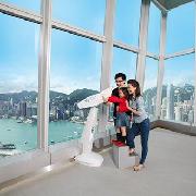 天際SKY100香港觀景台雙人門票