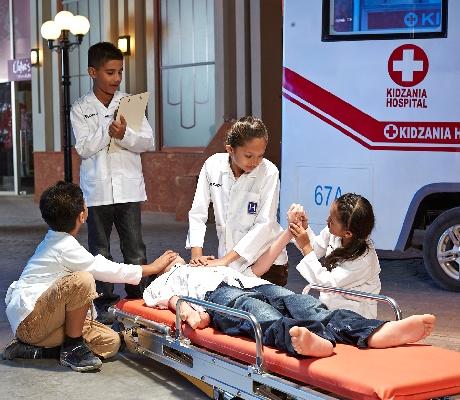 泰國曼谷兒童打工仔樂園KidZania