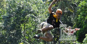 布吉島叢林飛躍-Flying Hanuman