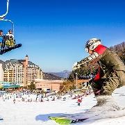 韓國龍平渡假村滑雪課程