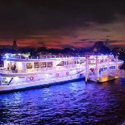 曼谷湄南河遊船威尼克號海鮮自助晚餐