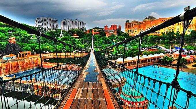 吉隆坡雙威水上樂園門票 吉祥物陪你共度春節