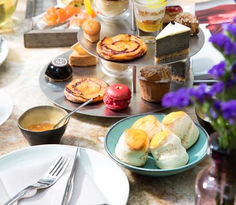 曼谷W酒店下午茶