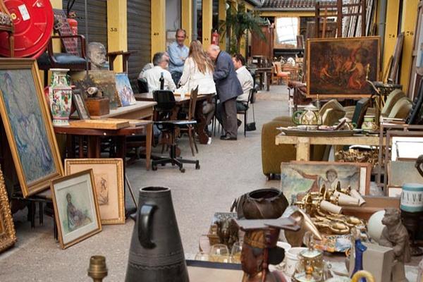 巴黎跳蚤市場、舊貨與古董市場