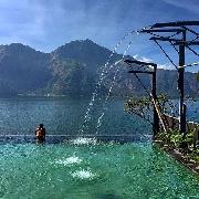 峇里島聖泉寺+火山溫泉+德格拉朗梯田一日遊