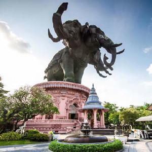曼谷三頭神象博物館門票(粉色博物館)