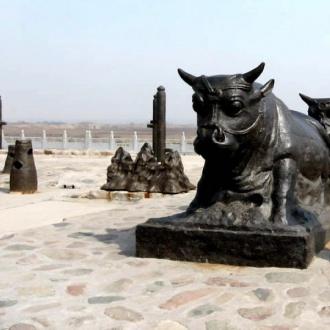 蒲津渡遺址博物館(黃河鐵牛)