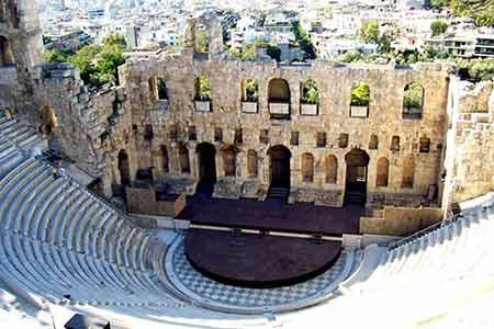 雅典衛城—雅典娜神廟—雅典競技場